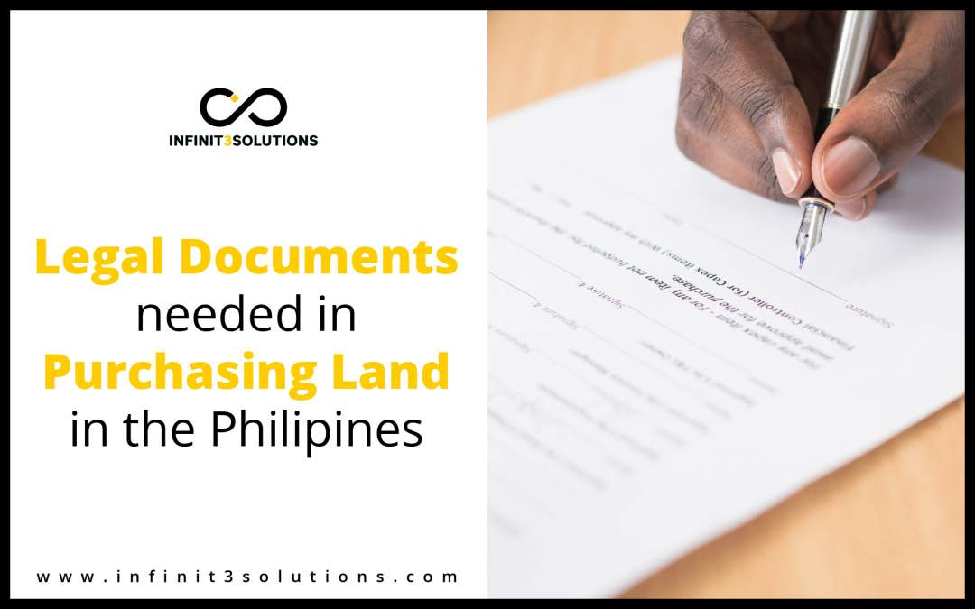 legal documents needed in purchasing land in the philippines